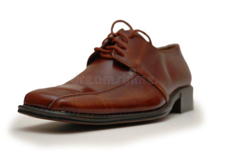 Zapato masculino fotografía de archivo