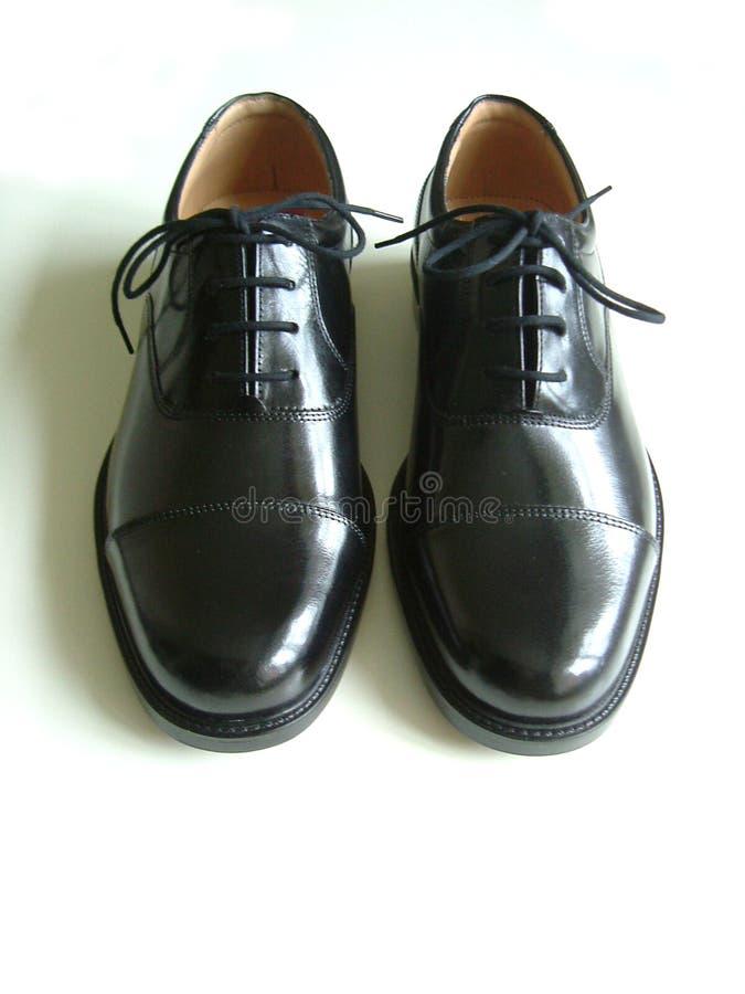 Zapato negro imagen de archivo