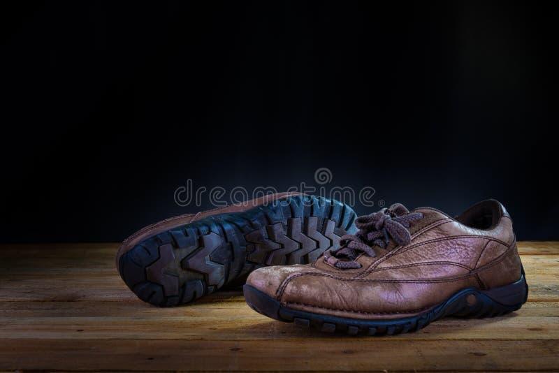 Zapato viejo fotografía de archivo