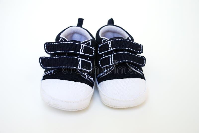 Zapatos adorables del bebé imagenes de archivo