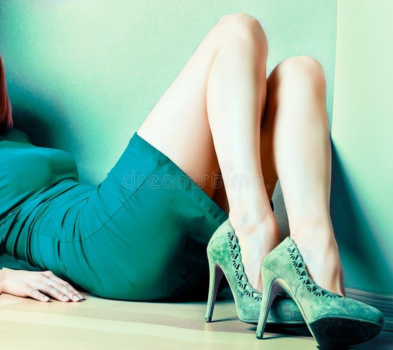 Zapatos agradables foto de archivo libre de regalías