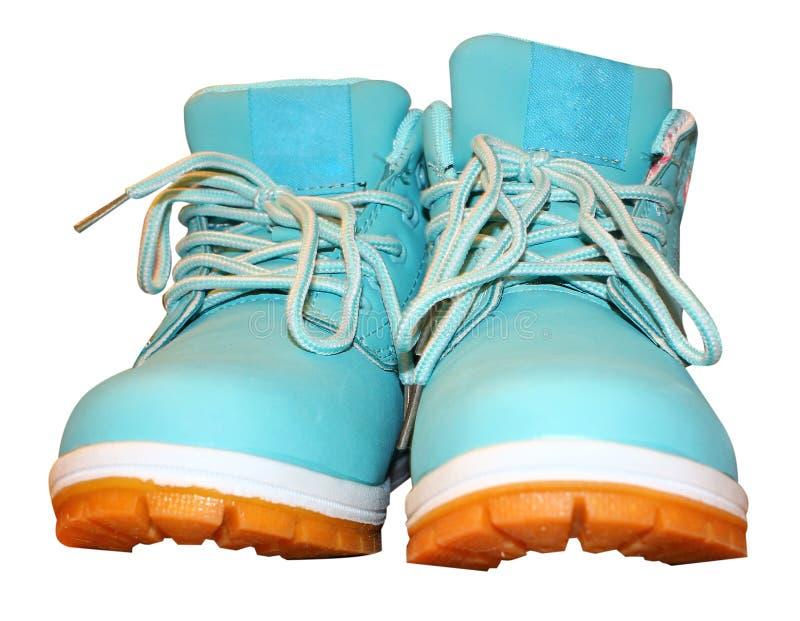 Zapatos aislados en la venta blanca del fondo de zapatos Etiqueta estacional de sale imagen de archivo libre de regalías