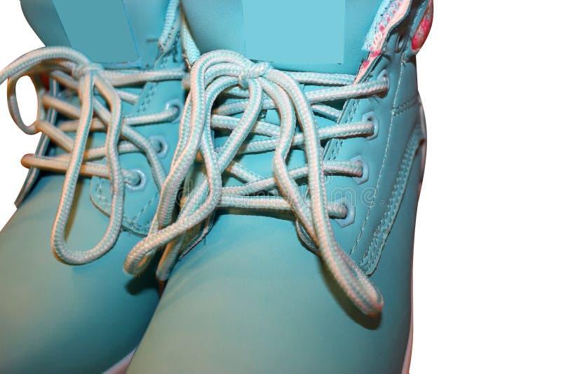 Zapatos aislados en la venta blanca del fondo de zapatos Etiqueta estacional de sale imágenes de archivo libres de regalías