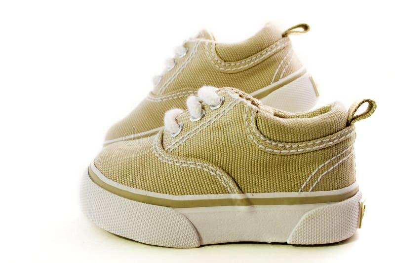 Zapatos de bebé imagenes de archivo