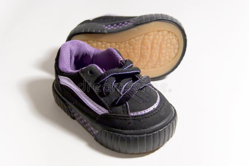 Zapatos de bebé 2 fotos de archivo libres de regalías