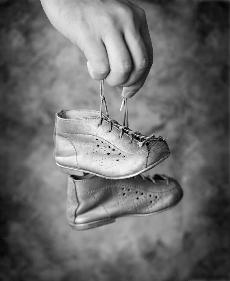 Zapatos de bebé imagen de archivo libre de regalías
