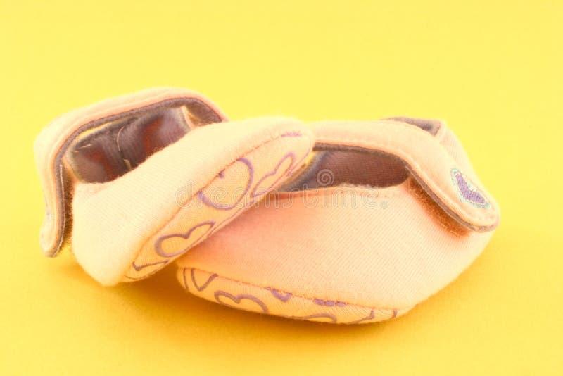 Zapatos de bebé foto de archivo