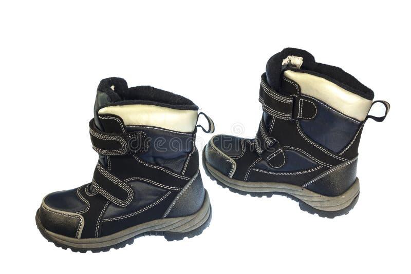 Zapatos de bebé para la caída y la estación de primavera fotos de archivo libres de regalías