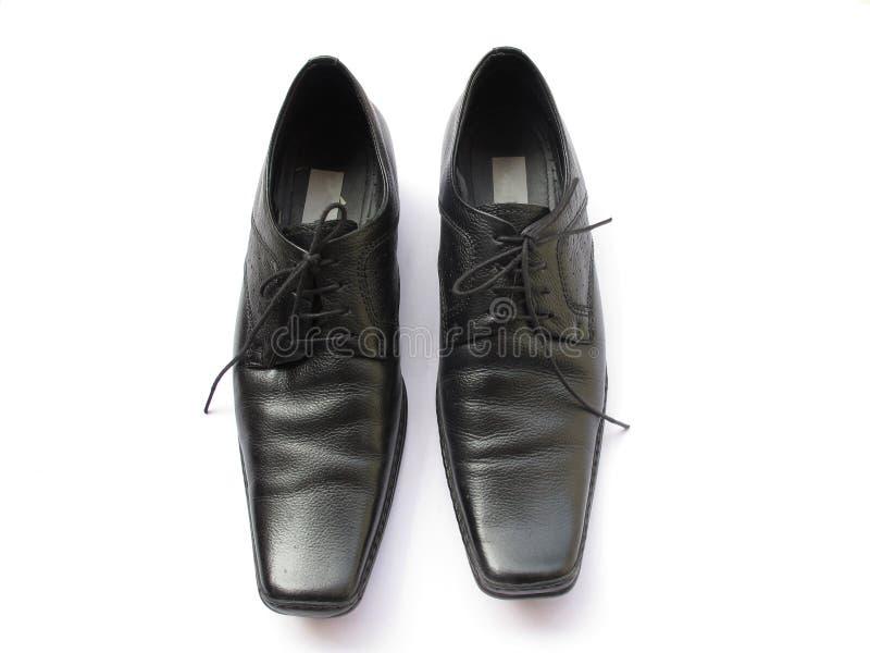 Zapatos de cuero foto de archivo libre de regalías
