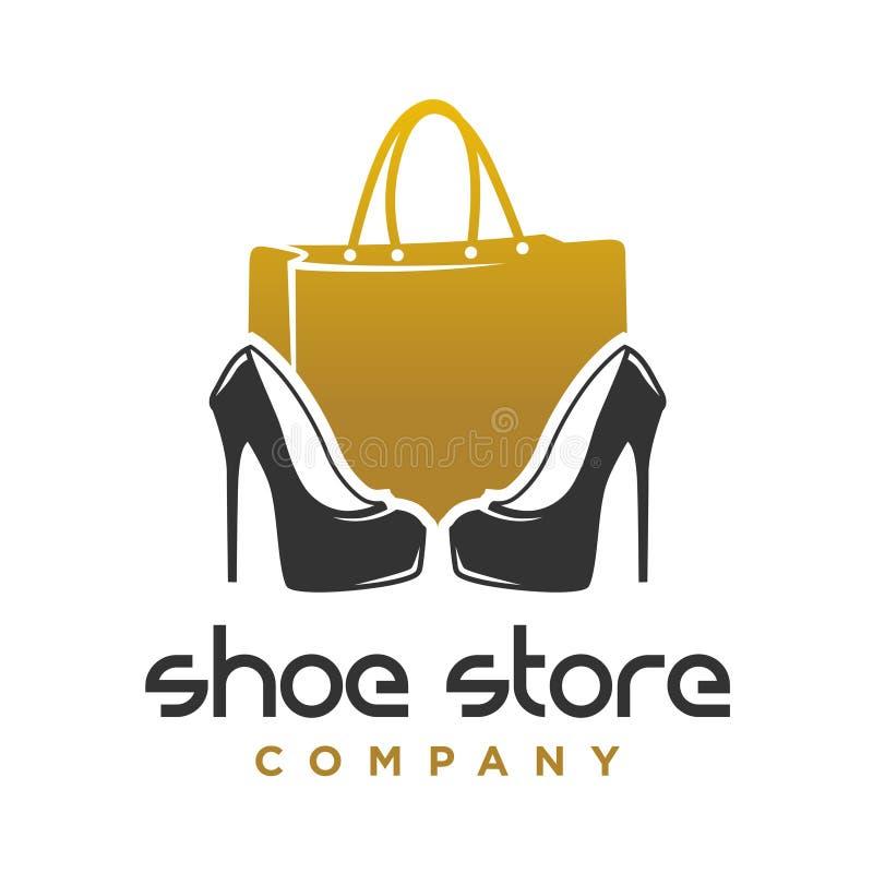 Zapatería Del Logotipo, Tienda, Colección De La Moda ...