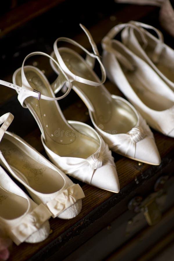 Zapatos de la boda fotos de archivo libres de regalías