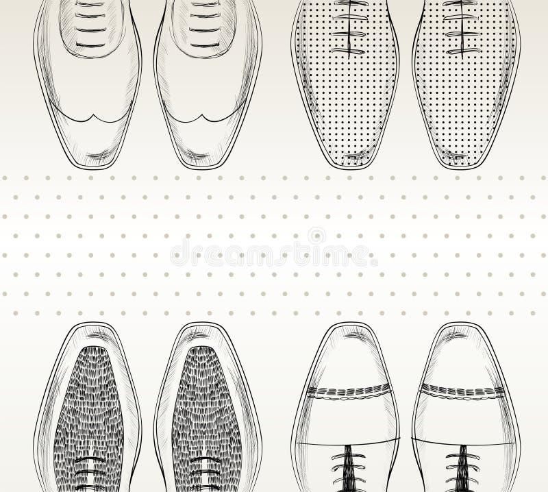 Zapatos de la moda. libre illustration