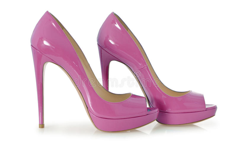 Zapatos de la mujer imagenes de archivo