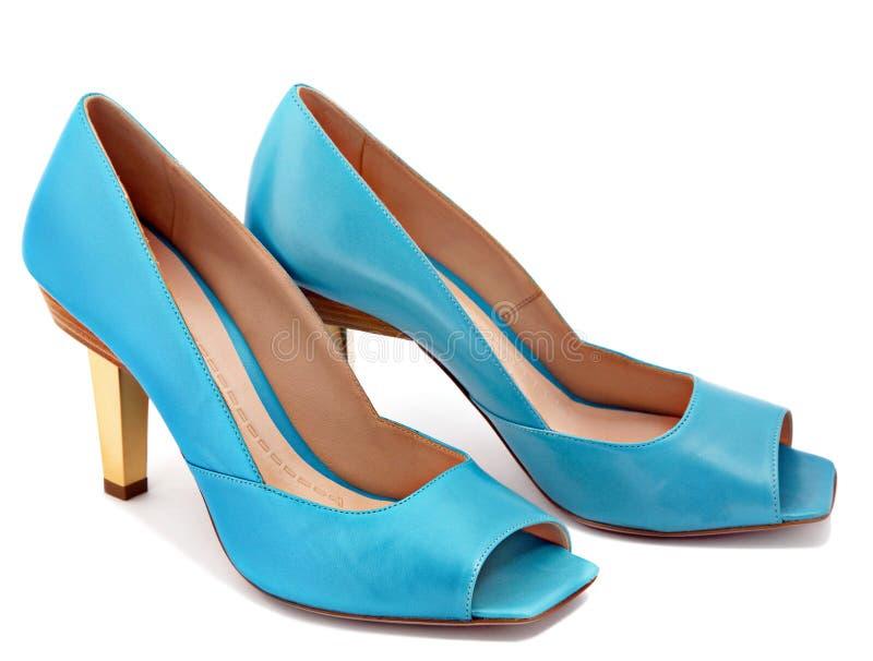 Zapatos de la mujer fotos de archivo