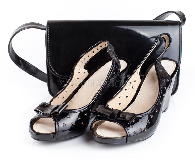 Zapatos de las mujeres imágenes de archivo libres de regalías
