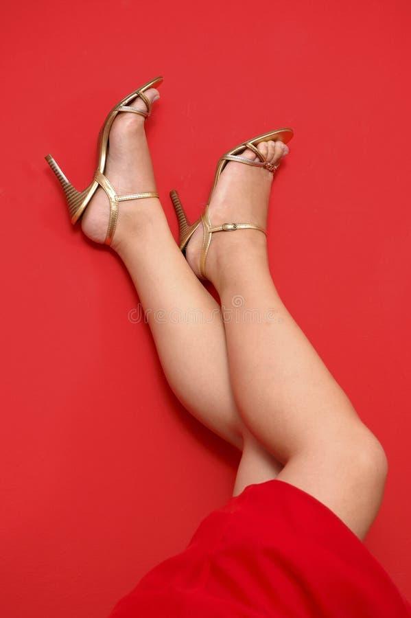 zapatos del Alto-talón imágenes de archivo libres de regalías