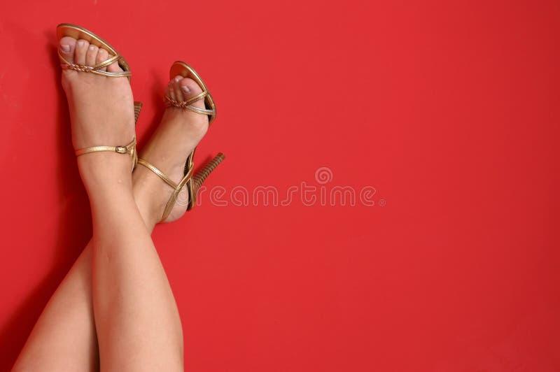 zapatos del Alto-talón imagenes de archivo