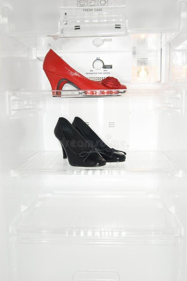 Zapatos del alto talón fotografía de archivo libre de regalías