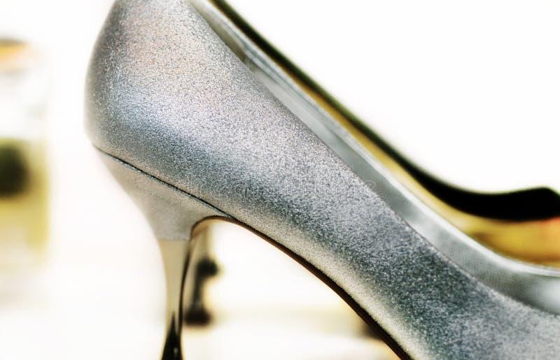 Zapatos del alto talón foto de archivo