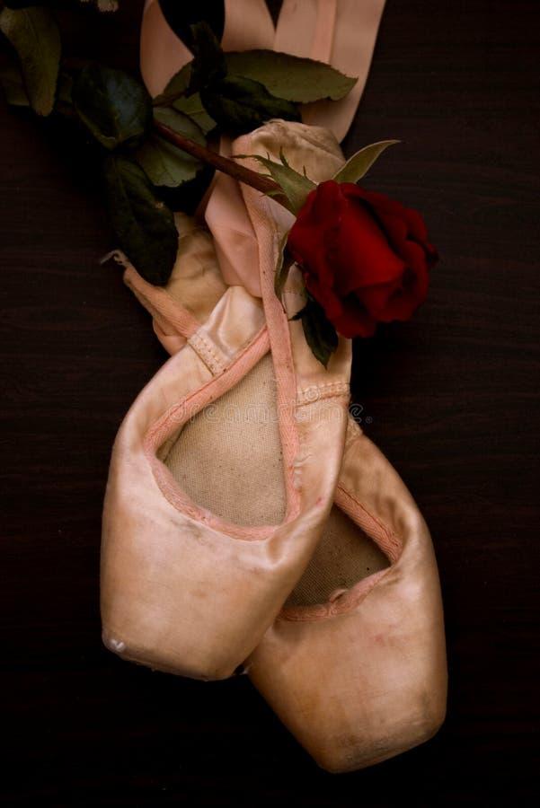 Zapatos del baile imagen de archivo