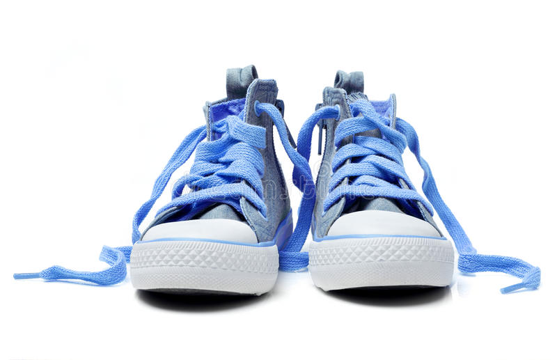 Zapatos del niño imagenes de archivo