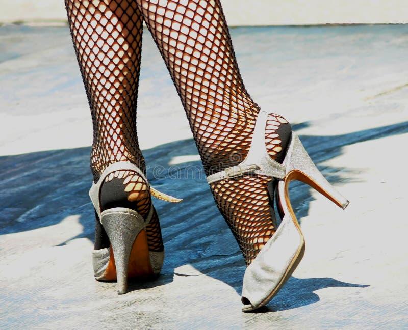 Zapatos del tango imagen de archivo libre de regalías