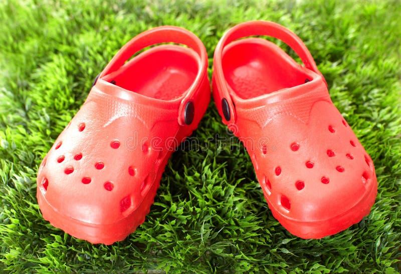 Zapatos del verano foto de archivo