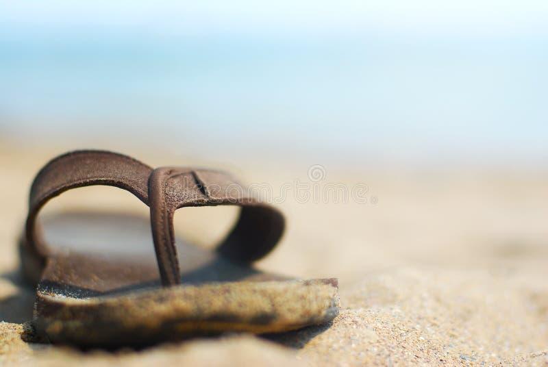 Zapatos del verano fotos de archivo