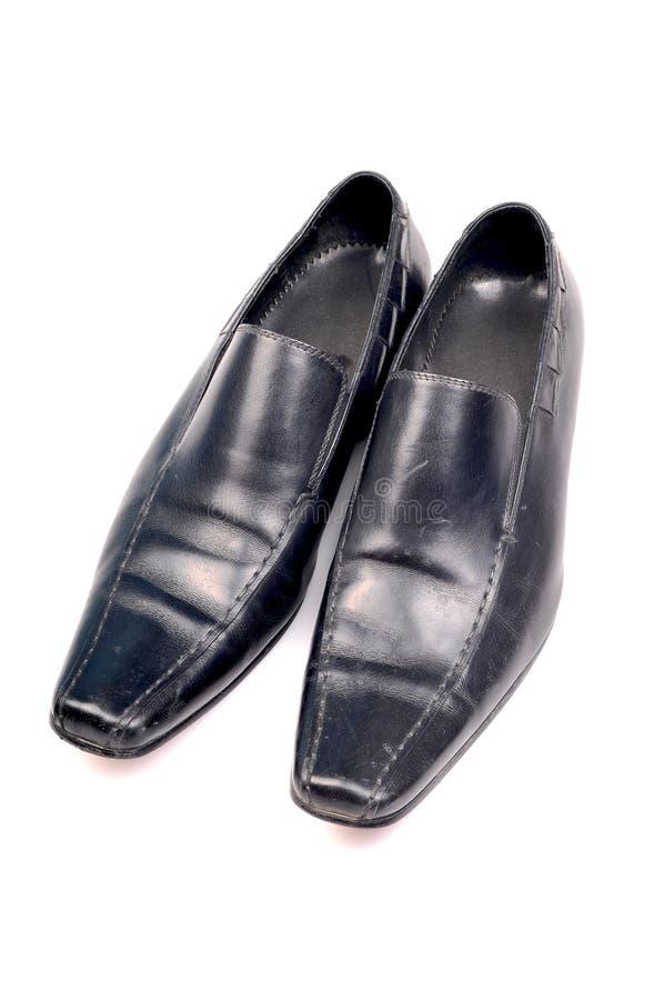 Zapatos formales negros foto de archivo libre de regalías