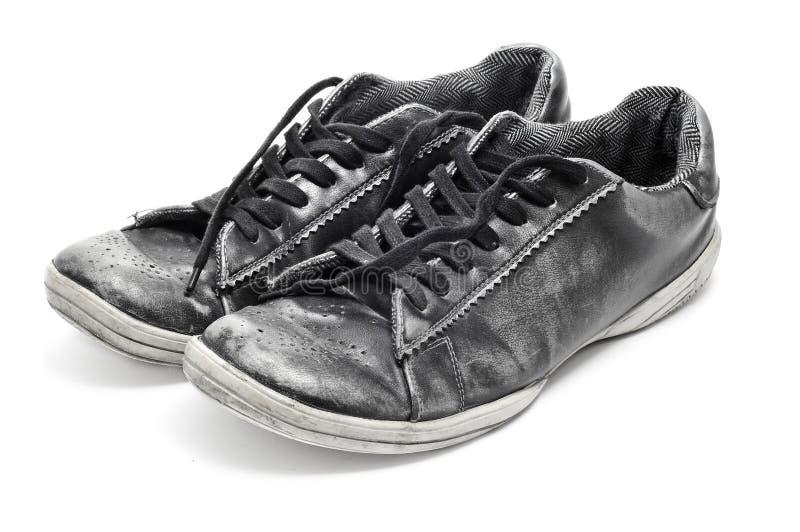 Zapatos gastados fotos de archivo