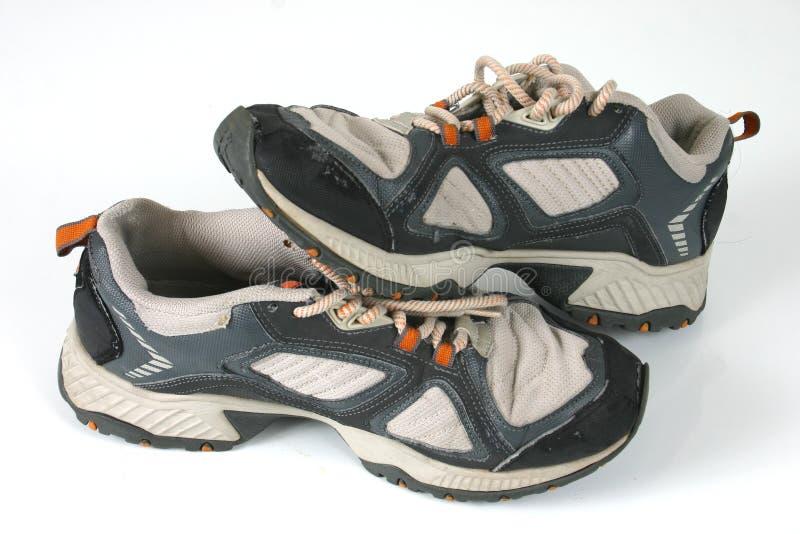 Zapatos genéricos de los deportes foto de archivo libre de regalías