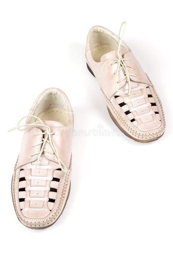 Zapatos inferiores imagen de archivo
