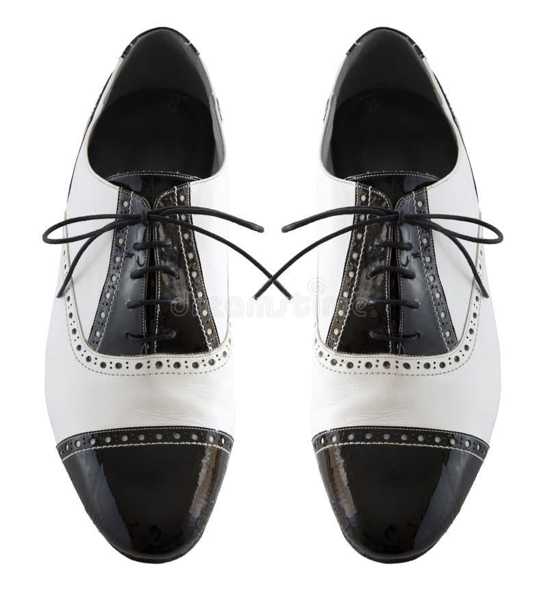 Zapatos masculinos del tango fotos de archivo libres de regalías