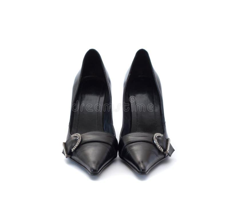 Download Zapatos negros imagen de archivo. Imagen de amor, relajación - 7277585