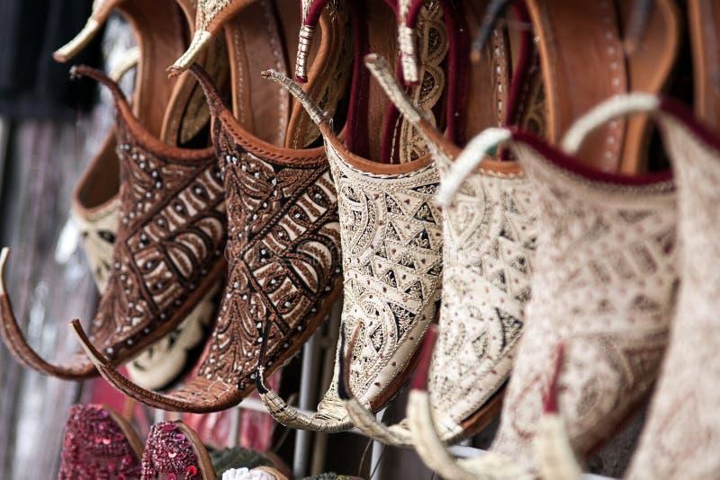 Zapatos orientales foto de archivo libre de regalías