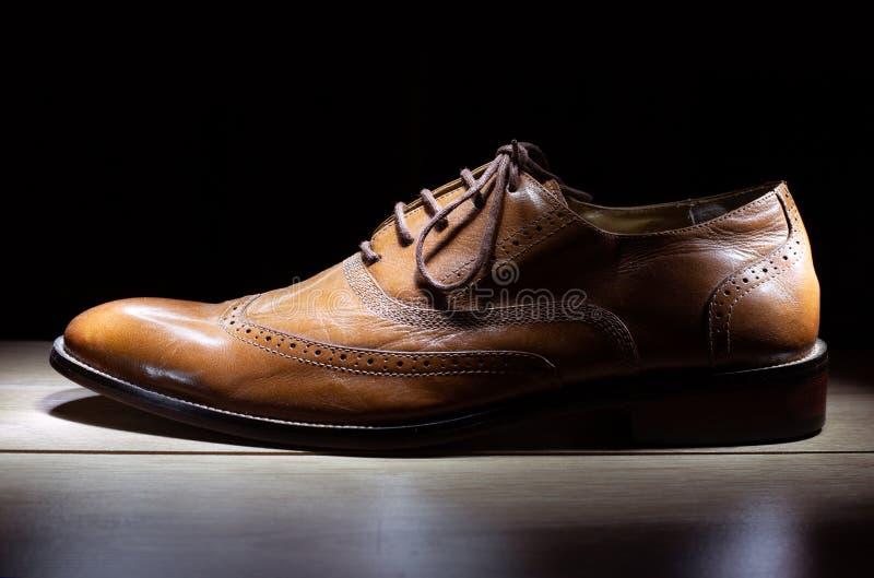 Zapatos, para hombre, fondo, cuero, moda, blanco, marrón, zapato, i imagen de archivo