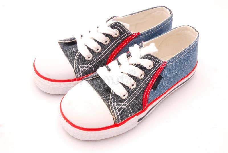 Zapatos para los cabritos foto de archivo libre de regalías