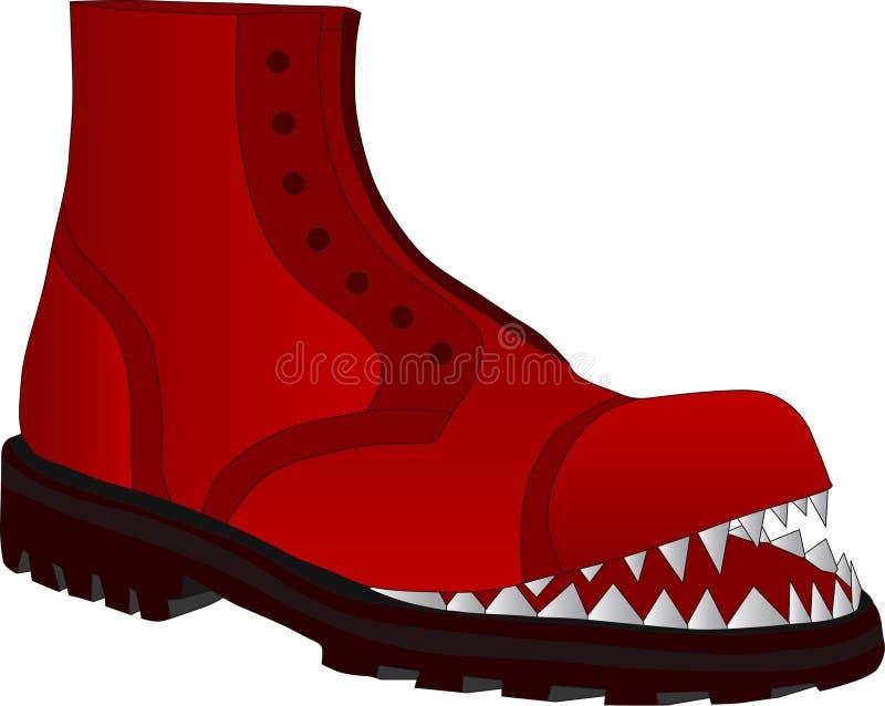 Zapatos quebrados libre illustration