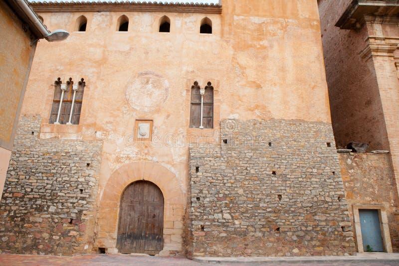 Zapijacza De Ferrer Castillo Palacio Del Senor pałac w Walencja zdjęcia royalty free