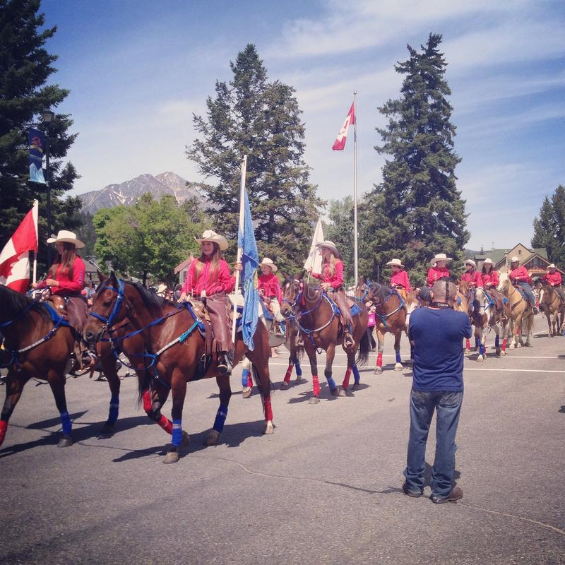 zapina Canada dzień ikony ustawiać obraz stock