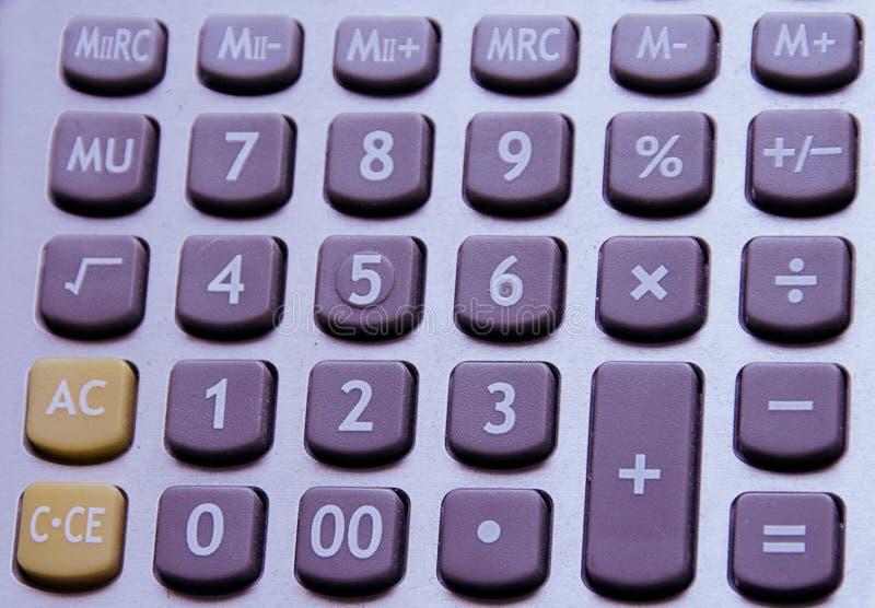 zapina kalkulatora obraz royalty free