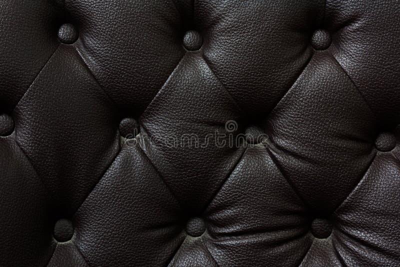 Zapinający na czarnej teksturze Powtórka wzór obrazy stock