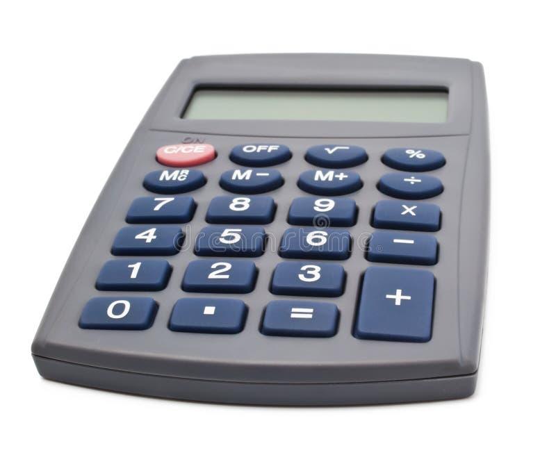zapnij kalkulator obraz stock