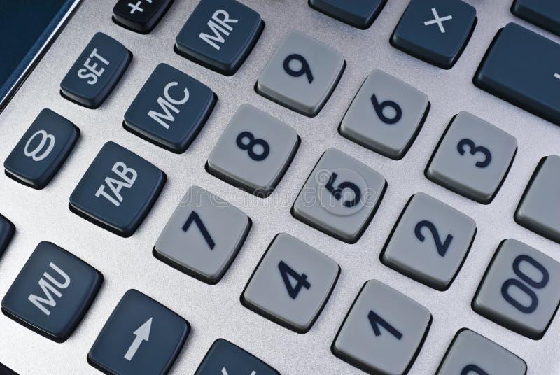 zapnij kalkulator obrazy stock