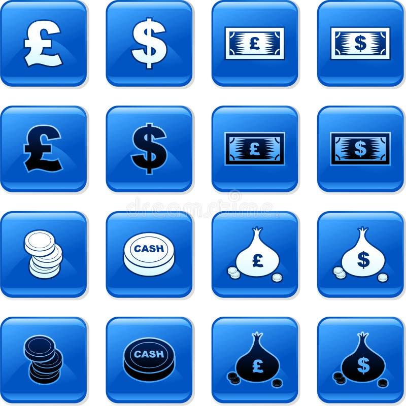 zapnij pieniądze ilustracja wektor