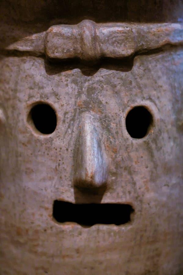 Zapo del detalle de la cerámica del museo del monasterio de México Oaxaca Santo Domingo foto de archivo libre de regalías