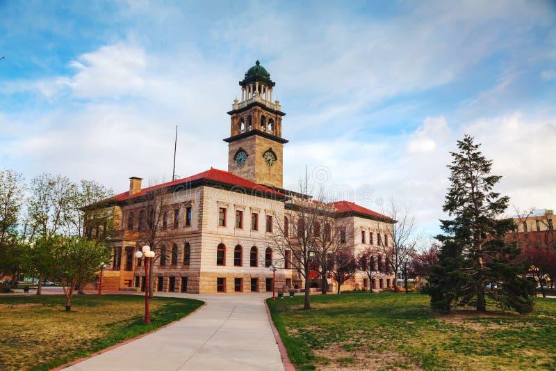 Zapoczątkowywa muzeum w Colorado Springs, Kolorado fotografia stock