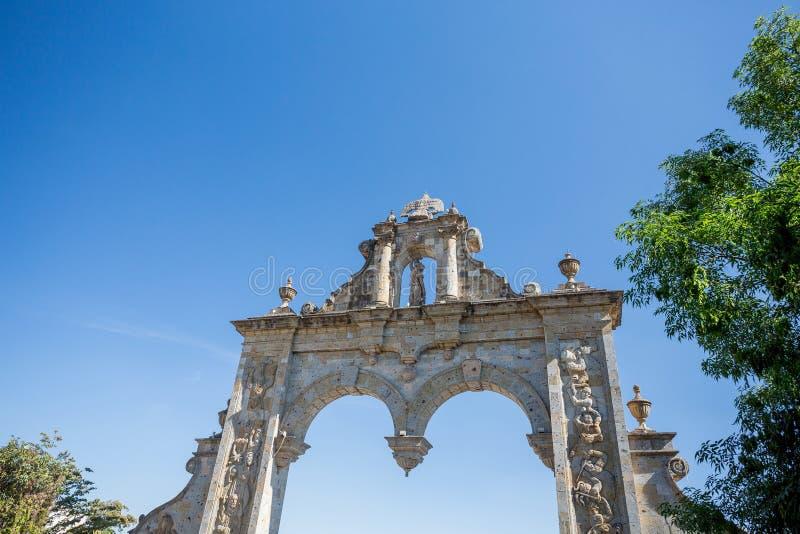 Zapopan välva sig, Guadalajara, Jalisco, Mexico arkivbilder