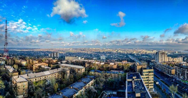 Zaporozhye HDR royalty free stock photography