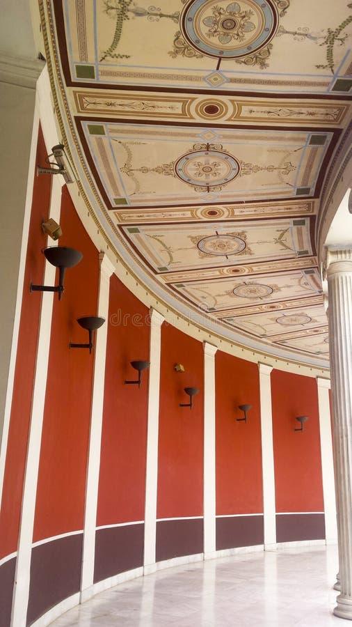 Zappeion, главная зала стоковое изображение